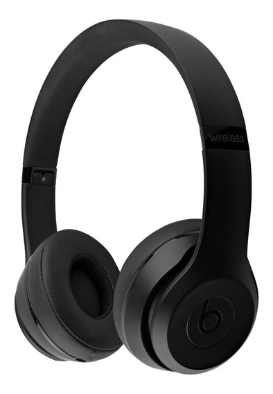Fone Apple Beats Solo3 Wireless Pop Preto Fosco Novo/caixa