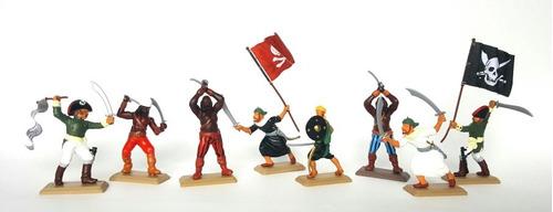 Piratas Soldaditos De Plástico Set Premium Especial