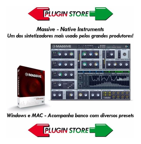 Native Instruments Massive Vst - Eletrônicos, Áudio e Vídeo