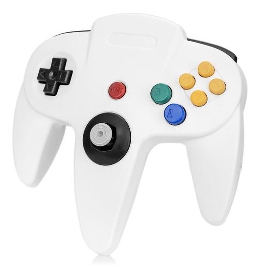 Abs Wired Jogo Console Controlador Para N64 - Branco + Multi