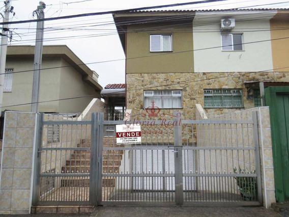 Ótimo Sobrado Com 3 Dormitórios - R$ 600.000 - Vila Pereira Barreto - So0178