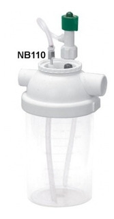 Nebulizador Frasco Polic. 500 Ml Oxigênio Nb110