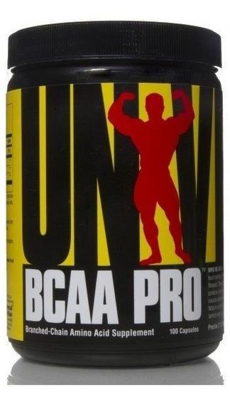 Bcaa Pro Universal Nutrition X 100 Capsulas Adn
