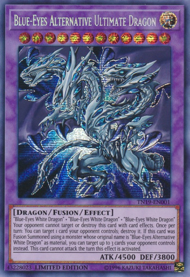 Blue-eyes Alternative Ultimate Dragon - Tn19-en001 - Prismat