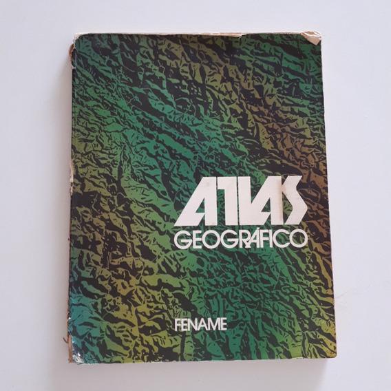 Livro Atlas Geográfico Fename 1983 C2
