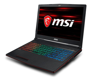Notebook Msi Leopard Gp63 I7 6cores 1tb+ssd256 Gforce Gtx6gb
