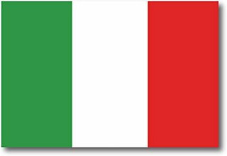 Imán Italiano De La Bandera De Italia Etiqueta Del Coche De