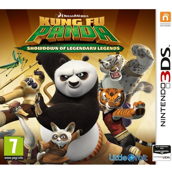 Kung Fu Panda: Showdown Of Legendary Legends 3ds Nuevo