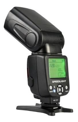 Flash Universal Triopo Tr-950 Com Difusor Brinde Canon Nikon