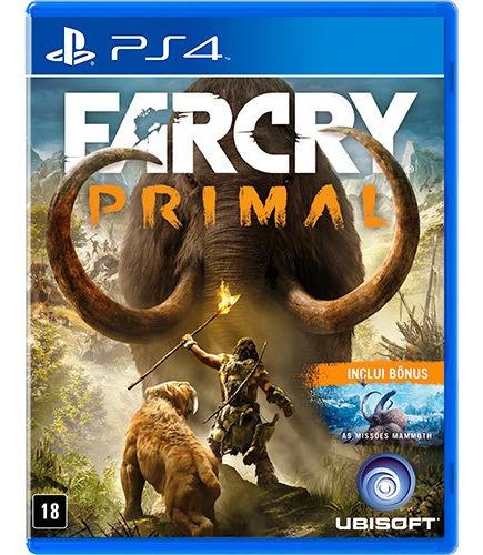 Far Cry Farcry Primal - Ps4 Midia Fisica