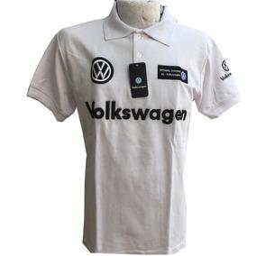 Playera Tipo Polo Volkswagen Blanca Envío Gratis