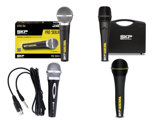 Microfonos Alambricos