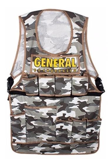 Avental Colete General Do Churrasco Exército Militar Tático