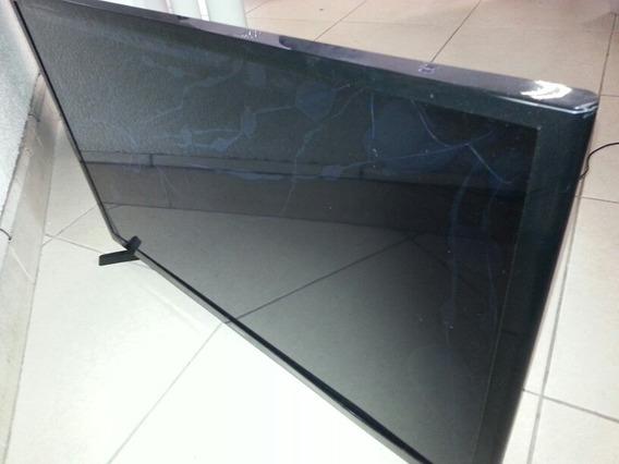Smart Tv Led 32 Hd Samsung Un32j4300 Completa(tela Quebrada)