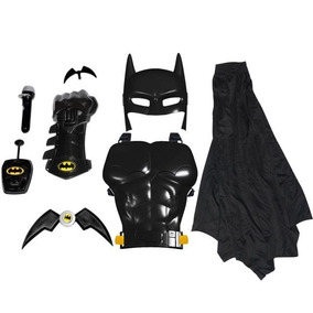 Fantasia Kit Conjunto Batman Comics