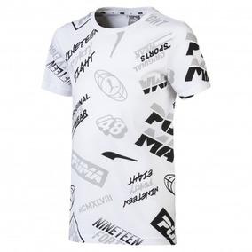 Camiseta Puma Infantil Graphic 854390-02