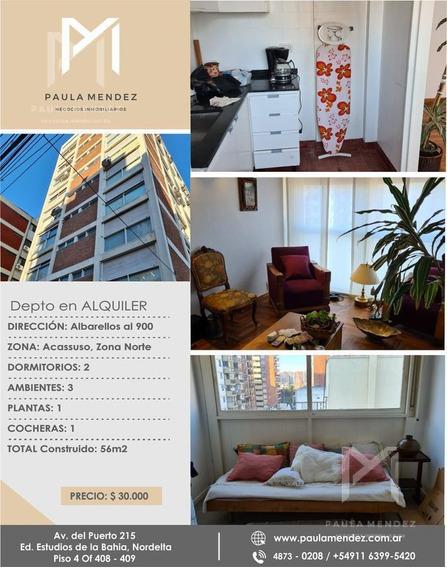 Departamento-alquiler-3 Ambientes-san Isidro - Acassuso