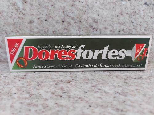 Pomada Analgesica Dores Fortes - 100g - Pronta Entrega