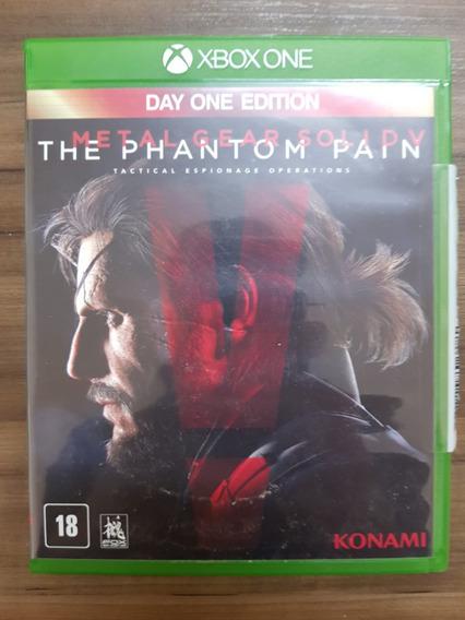 Metal Gear V The Phantom Pain Xbox One Midia Fisica