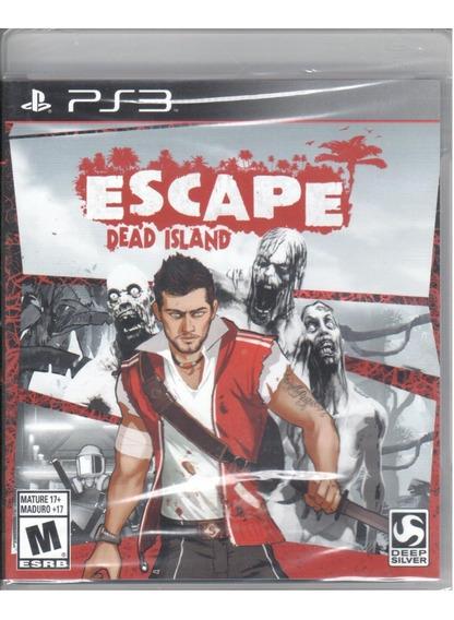Dead Island Escape Ps3 Original Mídia Física