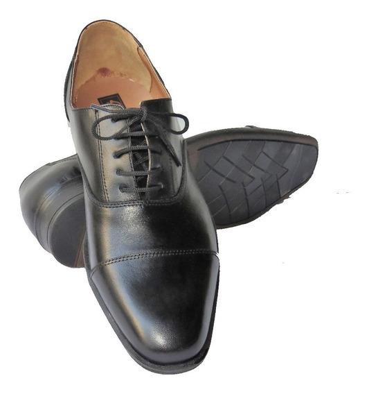 Zapatos Hombre 46.5 Al 50 Finos De Cuero Modernos !!