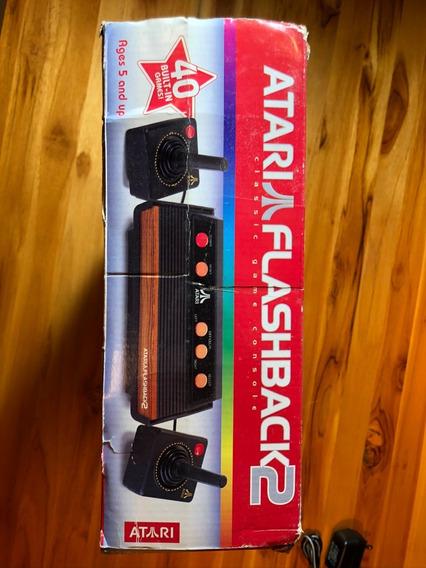 Atari Flashback 2 Retro Completo 40 Jogos Controles Fonte