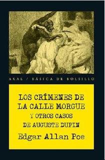 Crímenes De La Calle Morgue Y Otros, Edgar Allan Poe, Akal