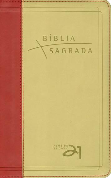 Bíblia Sagrada Século 21 | Vermelha E Areia - Vida Nova