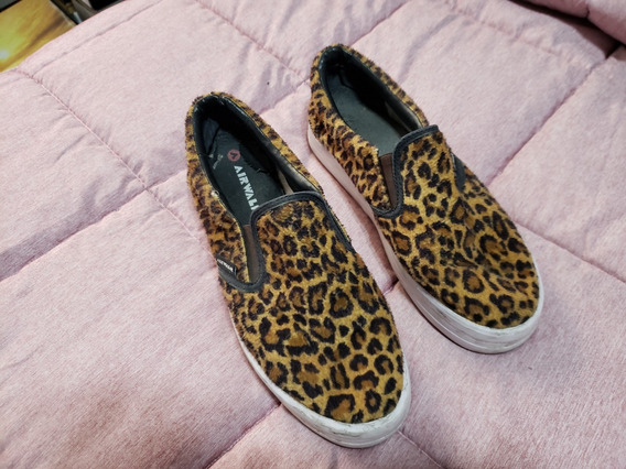 Zapatillas Tipo Panchas Animal Print Talle 39/40