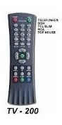 Control Remoto Para Tv 21 - 29 Slim Telefunken - Bgh -tcl