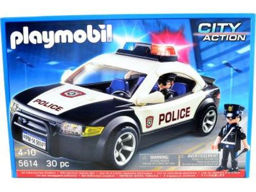 Playmobil Carro De Policia