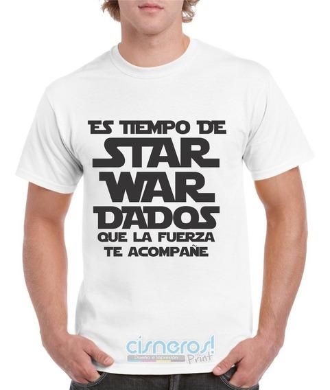 Playera Star War Dados Coronaviru Dama Y Caballero Starwars