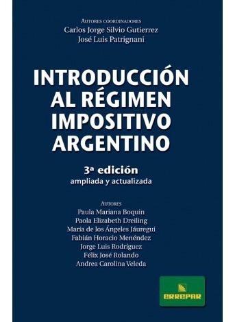 Introducción Al Régimen Impositivo Argentino - Errepar