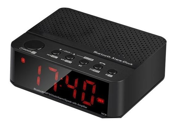 Rádio Despertador Fm Mp3 Player Multifuncional Leadstar