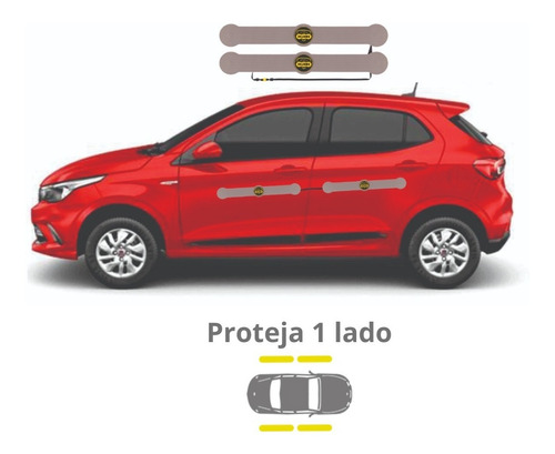 Imagem 1 de 4 de Protetor De Porta Magnético Para Carros Shields - Complete