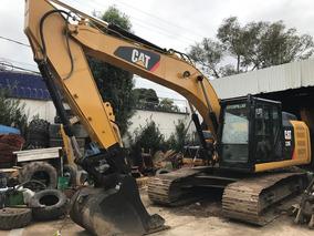 Excavadora Cat 320e Año 2014 Seminueva