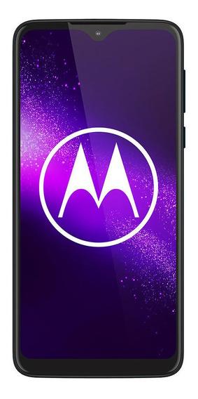 Celular Libre Motorola One Macro Azul