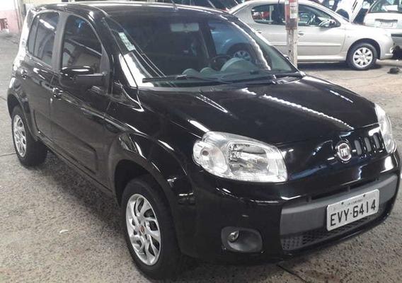 Fiat Uno 1.4 Evo Flex 4p Completo Financio Sem Entra