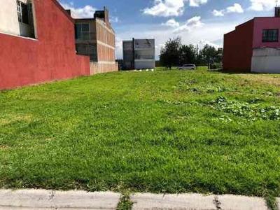 Terreno En Venta Dentro De Fraccionamiento En Toluca