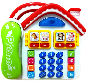 Telefone Musical Envio Rápido Português Bebe Infantil