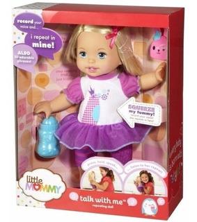 Boneca Little Mommy Fala Comigo F