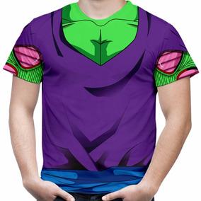 Camiseta Masculina Piccolo Dragon Ball Z Camisa Fantasia