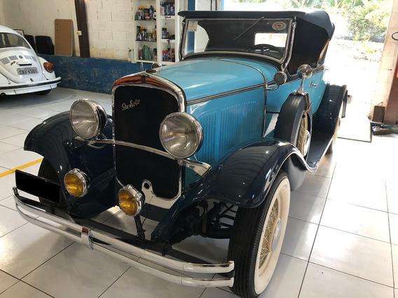 De Soto 1930 Placa Preta