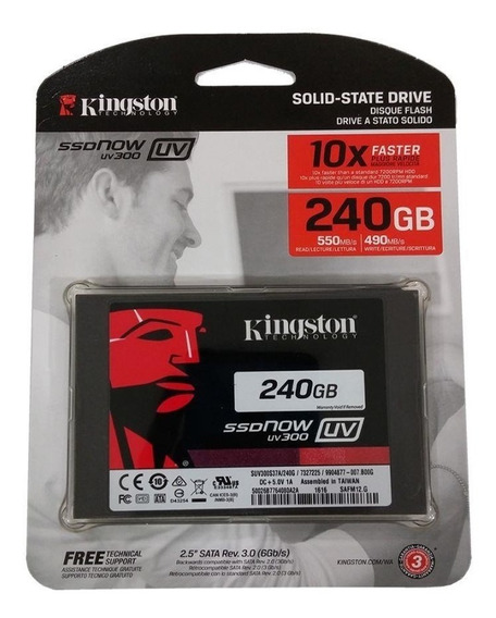 Ssd Kingstone 240gb Ssdnow A400 6gb/s