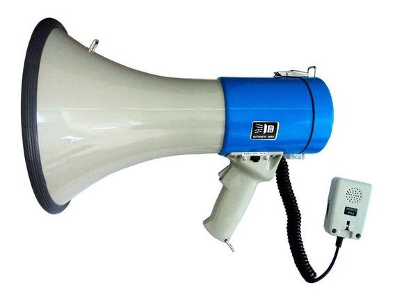 Megafone Csr Sk66 Alcance 1100m Com Microfone Destacavel Usb