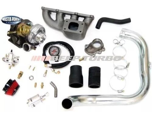 Imagem 1 de 6 de Kit Turbo Gm Corsa 1.0 Mpfi (com Coletor) - Com Turbina T2