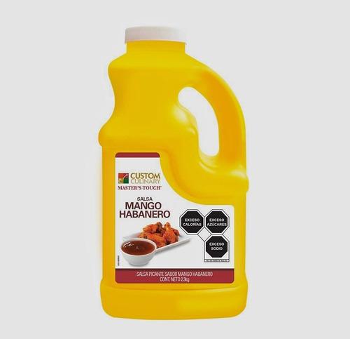 Salsa Mango Habanero Kit De 12 Galones De 4 Kilos Cada Unos.