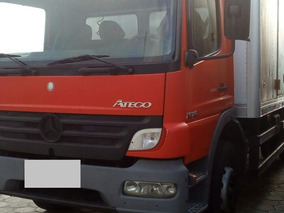 Caminhão Toco Com Baú Porta Lateral Mb 1518
