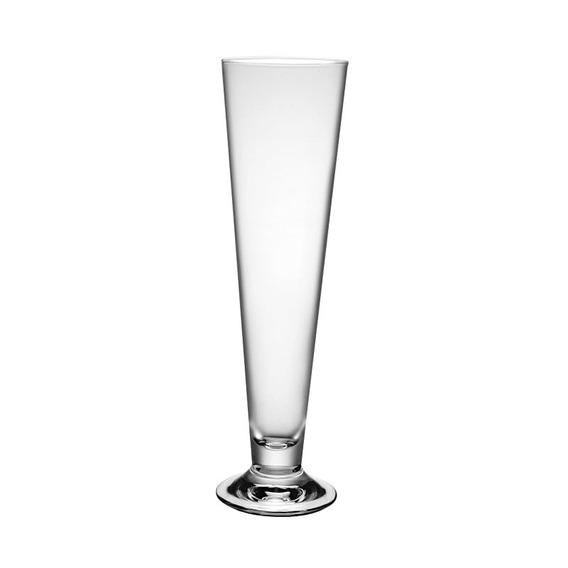Set X 6 Copas Vasos Cerveza Vidrio Templado Palladio 545 Cc