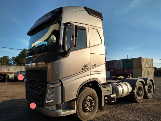Volvo Fh540 Globetrotter 6x4 Ano 2016 Bug Leve Ishift